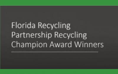 2020 Recycling Award Winners Webinar News