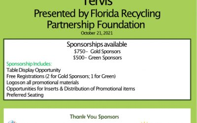 Florida Recycling Summit at Tervis Sponsorship
